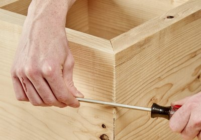 Creating perfect miters is hard, but this tip makes it really easy to fix them.