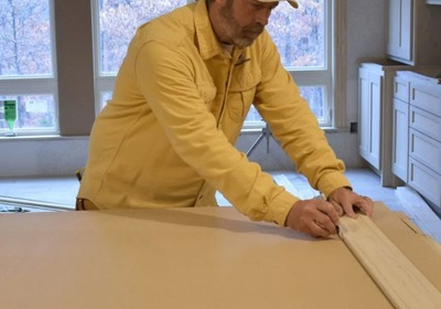 The Simplest Method You'll Ever See for Marking and Cutting Radius Trim